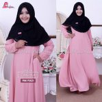 Zakiya Dress – Pink Peach
