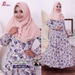 BELAROSA DRESS YELLOW-VIOLET