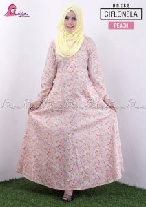 Ciflonela Dress Peach