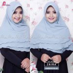 Khimar ZAIRA Dark GreyBlue