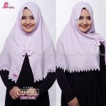 Jilbab Instant Light Plum