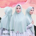 Bergo Plain Laura XL Misty Army