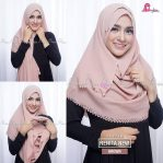 Pashmina Instant RENITA New Brown