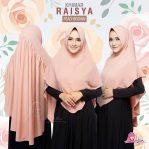 Khimar Raisya Peach Brown